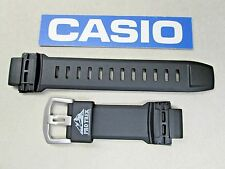 Genuine Casio Pro Trek PRG-250 PRG-510 PRW-2500 PRW-5100 rubber watch band black