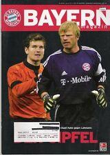 Bayern Magazin 6/54 , Bayern München - Borussia Dortmund , 09.11..2002