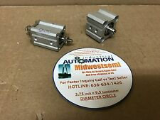 LOT OF 2 SMC CQ2B16-20DCM + CQ2WB20-5-DAM0 CYLINDER COMPACT FREESHIPSAMEDAY