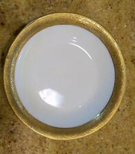 """2 Theodore Haviland Limoges China Heavy Gold Band Pattern 1269 Berry Bowls 5"""""""