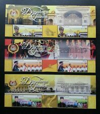 Malaysia Administration YDP Agong XIV 2016 Royal (stamp with title MNH *gold ink