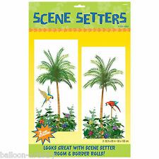 Tropical Paradise Summer Party Scene Setter Add-on Prop PALM TREES Decoration