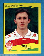 FOOTBALL 98 BELGIO Panini -Figurina-Sticker n. 282 - LESJAK -EXC MOUSCRON-New
