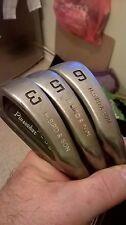 Lot of 3 Pinseeker Plus HBS Steel Shaft 3,5 & 6 Irons vgc