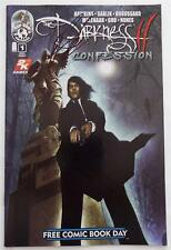 New SIGNED  Matt Hawkins  THE DARKNESS II Confession   FCBD  1 Shot    SDCC 2014