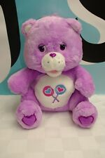 Care Bear Purple Share Electronic Bear Working Talking