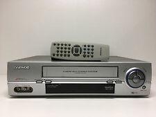Daewoo st767 HiFi estéreo VHS video grabador con mando a distancia