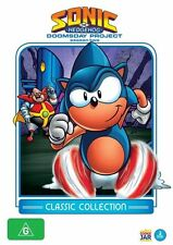 Sonic The Hedgehog - The Doomsday Project (DVD, 2012, 2-Disc Set) Region 4