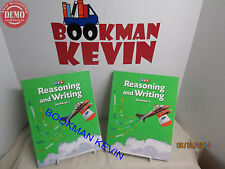SRA Reasoning and Writing Level B Gr 1 Workbook 1 and 2 LN (R5S10-2^)