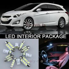 6Pcs White Map/Dome Lights Interior LED Package Kit For Honda CR-V 2007-2012