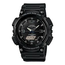 Casio Gents Tough Solar Black Analogue Combi AQ-S810W-1A2VEF Watch Brand New