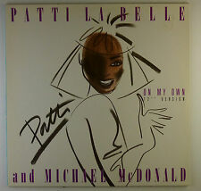 """12"""" Maxi - Patti LaBelle - On My Own - L5546c - washed & cleaned"""