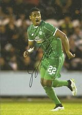 A 12 x 8 inch photo personally signed by Saido Janko of Glasgow Celtic.