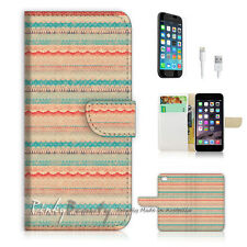 "iPhone 6 (4.7"") Print Flip Wallet Case Cover! Demask Vintage Pattern  P1402"