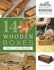 14 Wooden Boxes You Can Make (Home Woodworker), Crafts, Woodworking, Printed Boo