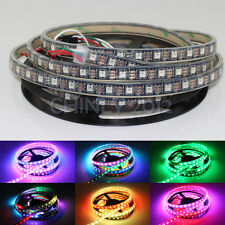 WS2812b DC5V Pixel RGB led strip, 5meters 300LED 300IC SMD5050 IP67 Waterproof