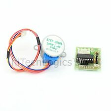 5V Stepper Motor 28BYJ-48 With Drive Test Module Board ULN2003 5 Line / 4 Phase.