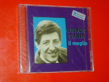 "GIORGIO GABER IL MEGLIO SERIE ""THE ORIGINALS"" CD 14 TRK NEW SEALED 2000 ITALY"