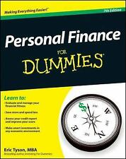 Personal Finance for Dummies® by Eric Tyson (2012, Paperback)