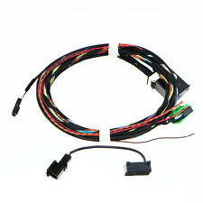 Bluetooth Microphone+Plug Wiring Cable For VW RCD510 9W2 9W7 Bluetooth Module