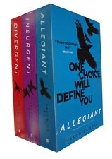 Divergent Box Set 3 Books Trilogy Veronica Roth Allegiant Insurgent SF New