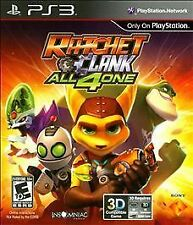 Ratchet and Clank: All 4 One - Playstation 3, Free Shipping, New