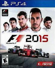 NEW F1 2015 (Sony PlayStation 4, 2015)