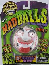 MADBALLS SCREAMIN' MEEMIE Mad Balls MadBall S1 Retired GROSS Basic Fun Baseball