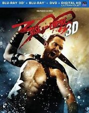300: Rise of an Empire (Blu-ray/DVD, 2014, 3-Disc Set, 3D 2D) DISC IS MINT