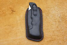 Leather pancake, sheath, pouch for Cold Steel Recon 1 or Code 4