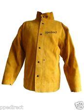 Premium gold cuir soudeurs veste heavy duty-Taille XL