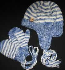 Knitting PATTERN - Cute Sherlock Holms Baby Hat and Mittens