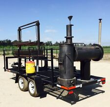 TOW-ABLE BBQ & SMOKER HEAVY GUAGE PIPE WILL BUILD TO SUIT