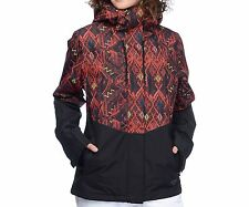 BILLABONG Women's AKIRA Printed Snow Jacket - KET - Large - NWT