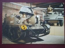 POSTCARD UNIVERSAL CARRIER NO 3 MARK II & DAIMLER SCOUT CAR MRK II