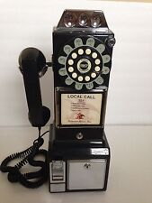 Push Button Payphone 1950s Technology Crosley Retro Phone Black Classic Vintage