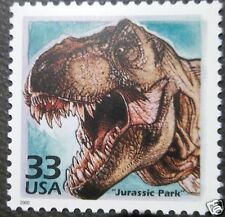 Jurassic Park World Dinosaur 1990s Film US Movie postage Stamp