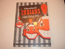 1948 Cleveland Indians Sketch Book / Year Book Yearbook #1