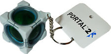 Valve Portal 2 Refracting Box Vinyl Key Chain Crowded Coop New W/ Tag Official