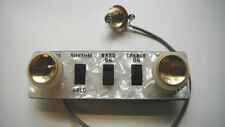 NEW ORIGINAL HOFNER CT BEATLE BASS CONTROL PANEL ASSEMBLY W/ TEACUP KNOBS