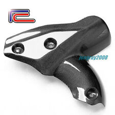 RC Carbon Fiber Exhaust Cover Heat Shield DUCATI Streetfighter S 848