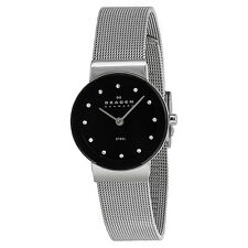Skagen Stainless Steel Mesh Ladies Watch 358SSBD