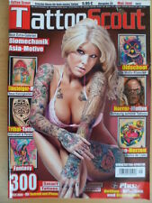 TATTOO SCOUT 29 Biomechanik Asia Tribal Fantasy Oldschool Horror-Motive Herzen
