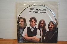 "Beatles Let It Unplugged 10"" Picture Disc Numbered"