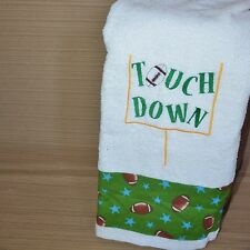 Personalized Towel for a Football Fan,Touch Down,  Birthday Gift for Boys/Kids