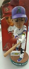 Martin Prado Variant Alumni Purple Bobblehead Bobble Head Diamondbacks - NEW SGA
