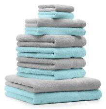 Betz 10 tlg Frottee Handtücher Set 2 Dusch- 4 Hand- 2 Gästetücher 2 Waschhands.