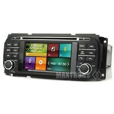 Car DVD GPS Stereo Radio Nav For Jeep Grand Cherokee Dodge RAM Chrysler Sebring