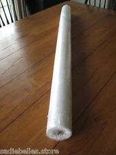 30 YDS WHITE MED WT FUSIBLE INTERFACING / NONWOVEN 52''