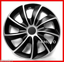 "4x15"" Wheel trims for VAUXHALL CORSA ZAFIRA ASTRA MERIVA VECTRA black/silver"